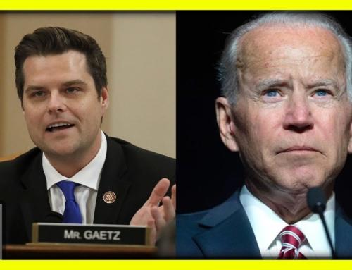 Joe Biden's Next Crime Spree Revealed By Matt Gaetz