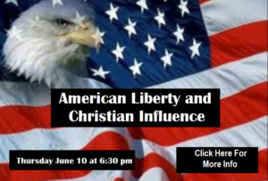 American Liberty and Christian Influences